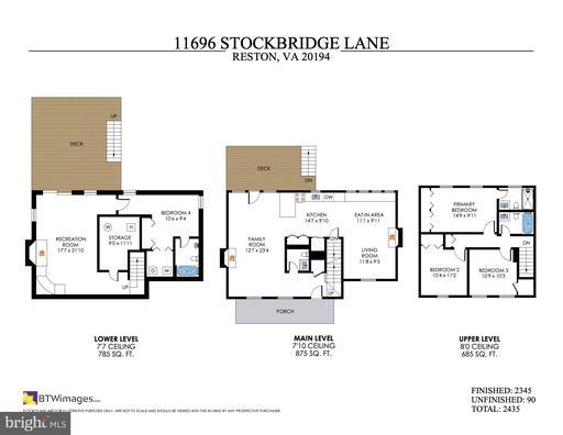 11696 Stockbridge Ln Reston VA 20194
