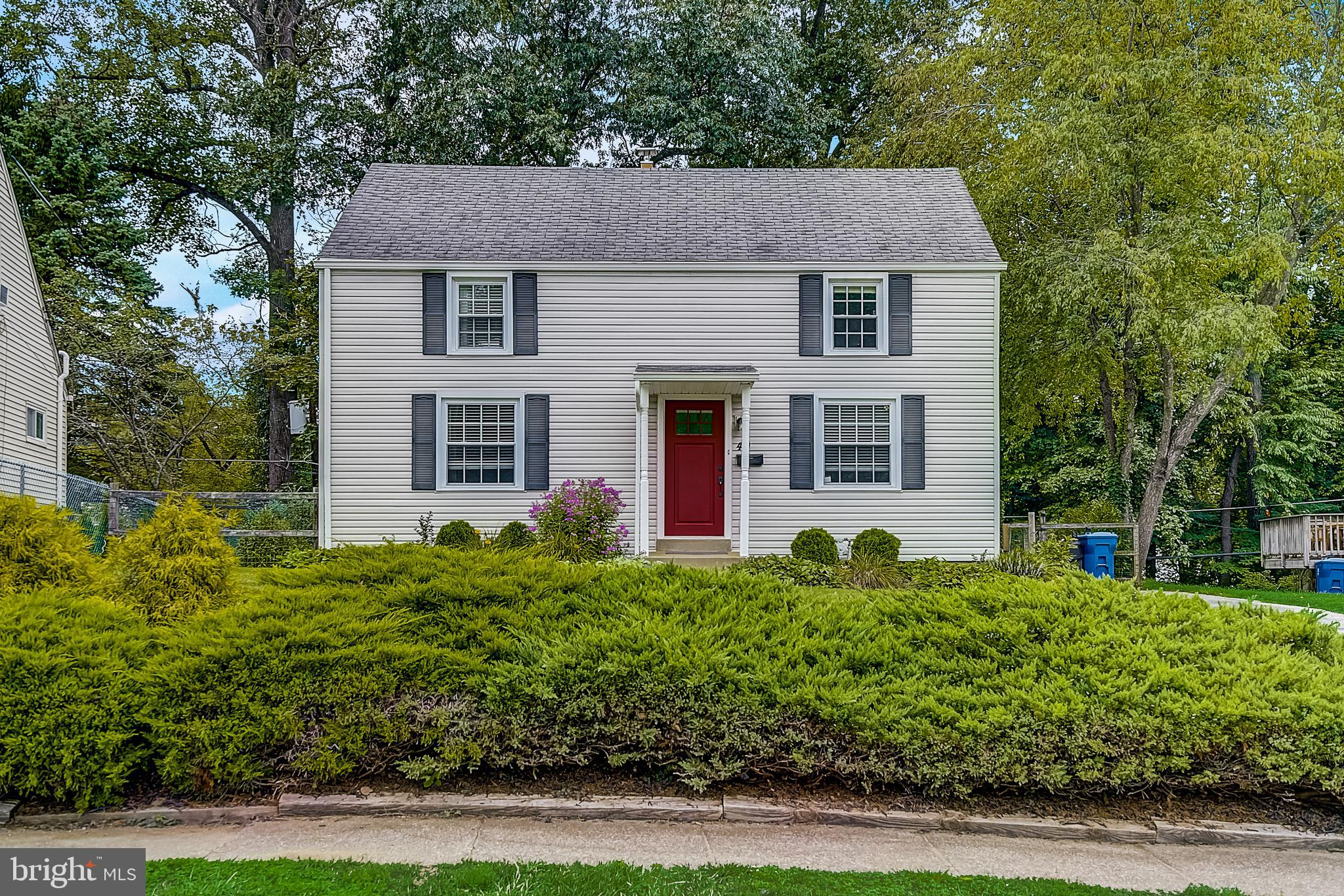 Pack your bags and move right into this wonderful property located in the Easttown Woods section of Berwyn.  From the moment you enter this  well maintained 4 bedroom, 2 full bath open concept Cape Cod home, you are welcomed by the  beautiful hardwood floors and natural light streaming in!  The spacious living/family room flows into the dining area and kitchen.. A door in the kitchen opens to a porch with access to a beautiful stone patio and a private flat, fenced-in backyard perfect for relaxing, entertaining, and enjoying all types of outdoor activities. The main level also  includes  2 bedrooms and a full bath.  On the 2nd level, you will find 2 additional generously sized bedrooms, one of which is the primary bedroom with an updated ensuite bath. The unfinished lower level offers the opportunity for additional living space and also has a walk-out to the backyard. This ready-to-move-in property is located in the renowned  Tredyffrin-Easttown School District and is convenient to shopping, entertainment, and a short distance to the  Easttown Library and Berwyn train station. If move-in-ready condition, convenience,  train access, and great schools are on your list of must-haves, 49 Eastwood could be the house which you would like  to call home!