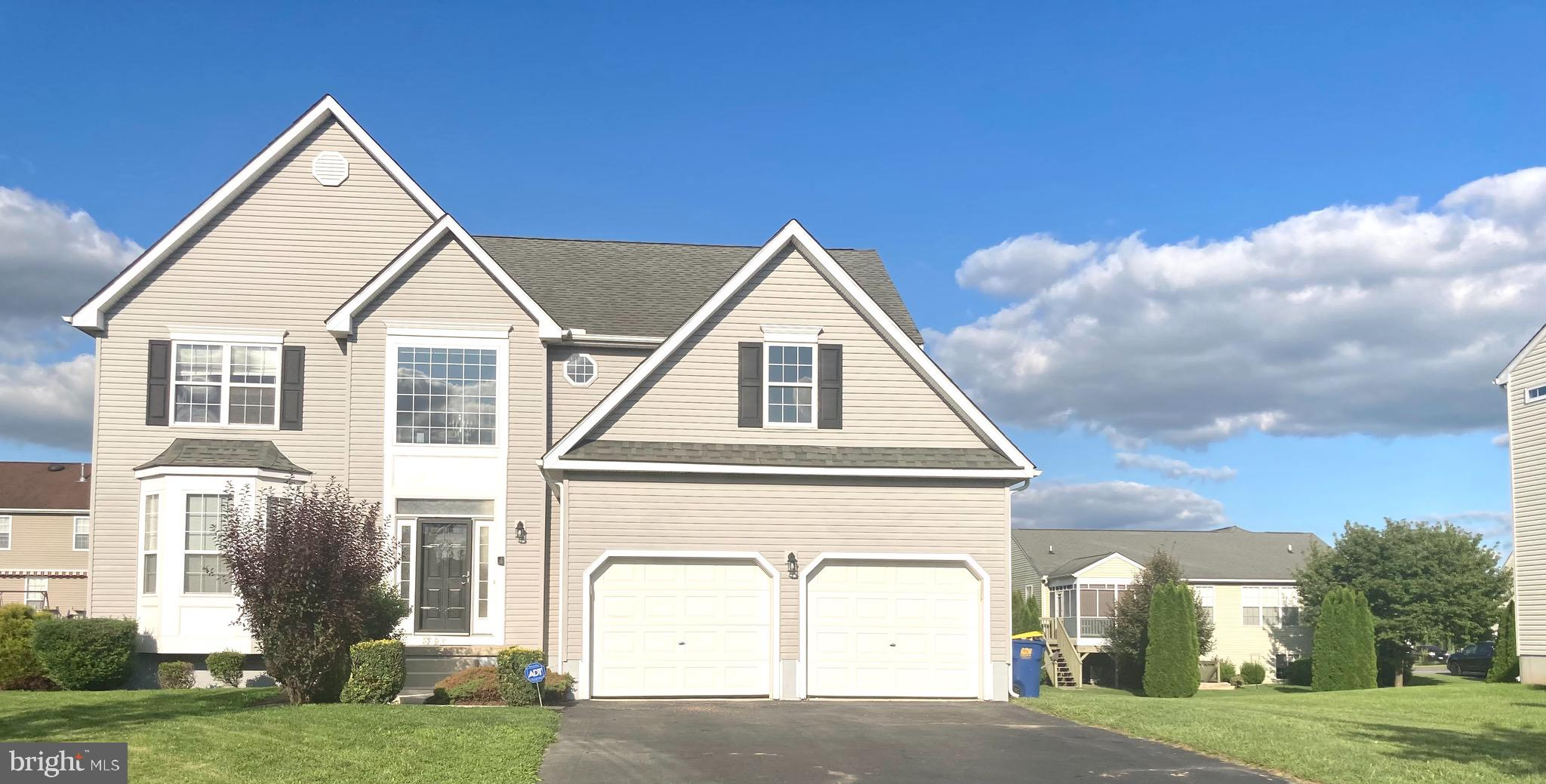 Massive 5 bedroom 3 1/2 bath located in the desirable community, Pinehurst Village. All new carpet and paint throughout!  A must see upon entry you're greeted by the grand, two-story foyer with new vinyl plank flooring and carpet throughout leading to the beautiful eat-in kitchen equipped with all new appliances. The main floor has a formal dining room and sitting room and a cozy fireplace in the main living area. Upstairs you'll find the large master bedroom with 2 huge walk-in closets in the master bathroom you will find a dual vanity, standing shower, and giant soaking tub with plenty of natural light. Also upstairs are another 3 spacious bedrooms, full bath, and massive upstairs laundry room. Continuing to the finished basement you'll find everything you'll need to entertain which includes a full bar with countertop and sink another additional bedroom and full bathroom as well as huge living area with a walkout entrance. Over 3500 sqft there's plenty of room for everyone. Only a few minutes away from route 1, Dover Air Force Base, shopping, local restaurants, and more! Schedule your showing today. Realtor has financial interest in property.