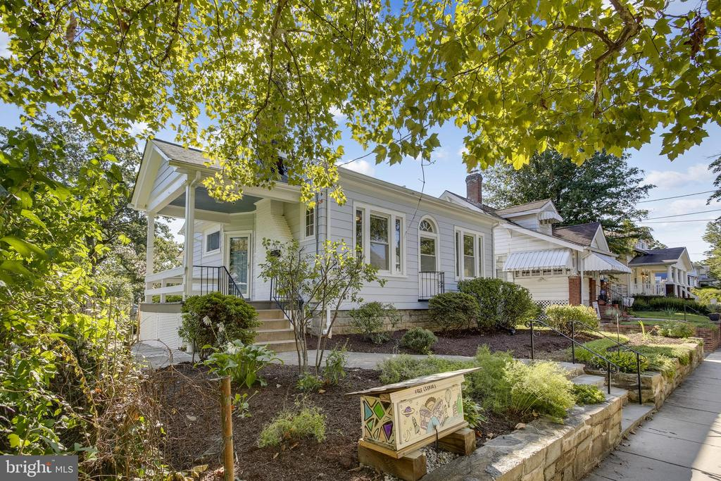 This masterful 4BR/2BA Brookland bungalow is a sight to see! Bright, glamorous features include hardwood floors, brick fireplace, and sunny breakfast nook. Lower level has room for entertainment area, laundry, storage, AND your very own home office. Fenced-in backyard is perfect for gardening, relaxing, or playing catch. Walk to the Metro, as well as popular bars and restaurants in and around the neighborhood, including Brookland's Finest and Dew Drop Inn. This home is sure to charm you once you step inside! OPEN HOUSE SUN 1-4