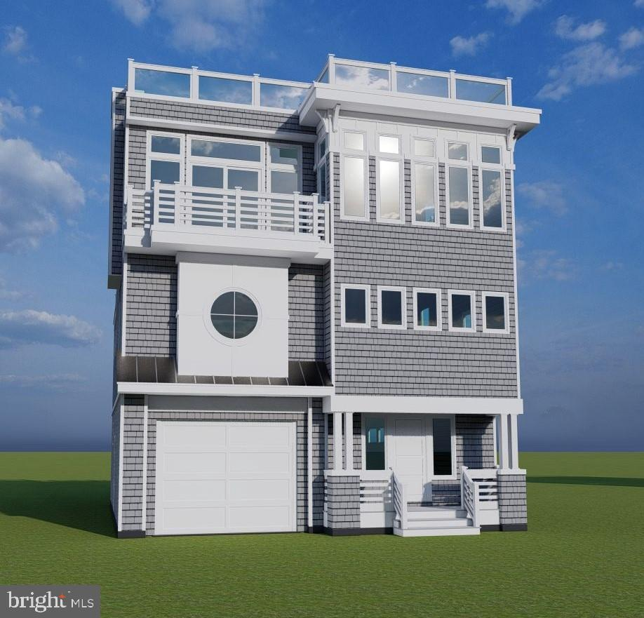 Welcome to 115  E Mermaid Lane, located 3 homes and just 25 steps to the beautiful beaches of LBI! This to be built, new construction home offers 5 bedrooms, 4.5 bathrooms and 2678 sq. ft of living space. This reversed living home is perfect for entertaining friends and family. The 1000 sq. ft. roof top deck, which features a Hot Tub, Grill, and Fire Pit, is a great place for you and your guests to enjoy the unobstructed ocean views all year long. The roof top deck will surely be the best place to catch both sunrises and sunsets. No short cuts were taken during the design of this home. High quality Oak hardwood flooring throughout as well as an upgraded kitchen  featuring GE Cafe Series Stainless Steel Appliances and granite countertops. The open concept floor plan offers plenty of natural light due to the expansive windows throughout. Comes equipped with a three stop elevator which is perfect for the reverse living lifestyle. Additional exterior features include: outdoor shower, paver driveway, landscaping with underground sprinklers and more!  Act now to put your own personal touch on this beautiful home! Estimated completed date is end of May 2022. Be in  just in time for Memorial Day!