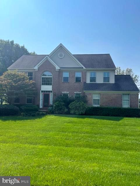 ***Professional photos coming soon!!!  Located just below the C&D Canal in the Appoquinimink School District, this beautiful brick Colonial is a must-see!  Pull into the brand new oversized driveway to the 2 car turned garage with indoor access.  The path to the front door is bordered by manicured landscaping.  Inside, the 2 story foyer greets you with light from the Palladian and transom windows.  Custom wainscoting and hardwood flooring line the hallway.  To your right, French doors  bring you into the study,  perfect for working remotely, or as a music or hobby room.  On the other side of the grand staircase is the formal living room which flows naturally into the dining room. From here, the adjacent kitchen comes complete with white cabinetry, gas range, a center island and room for a table and chairs.  The first floor laundry room sits off of the garage.  Step outside to relax on the composite deck, shaded with an automatic sun setter awning, or jump into the beautiful inground pool!  The half acre lot backs to open space, leaving lots of room for outdoor activities.  Back inside, the 2 story family room features a gas fireplace flanked by accent windows.  The second floor offers   a unique layout, with 2 loft areas - one being used as a second workstation.  4 bedrooms, including a sizable Master suite and a second full bath await you.  The lower level was finished by the builder and adds lots of additional space. The HVAC system was recently replaced as well.  On public sewer and water too!