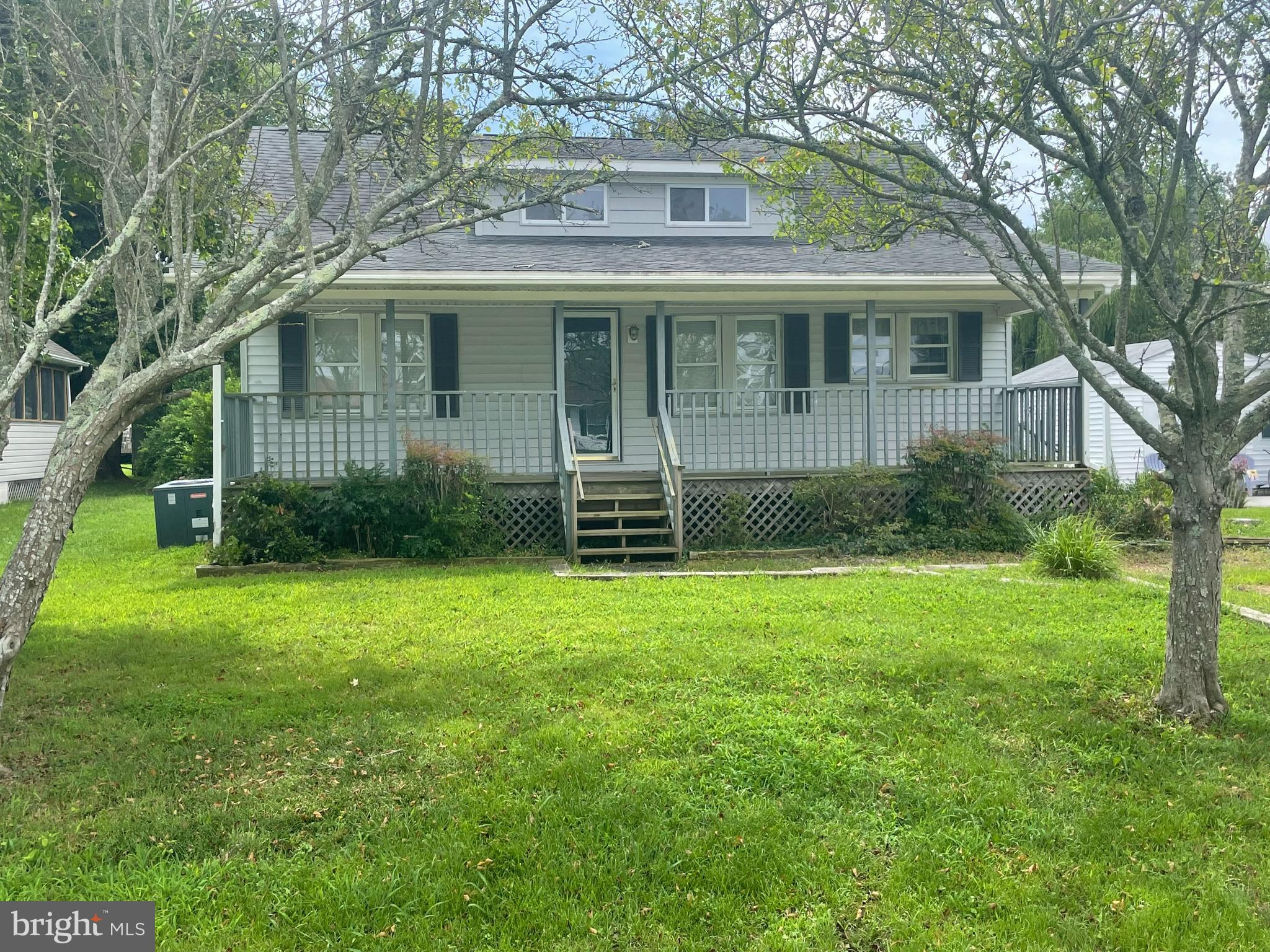 Looking for a new owner who wants to bring the charm back to this Cape styled bungalow in West Ocean City. Just minutes to the beaches of Ocean City and Assateague Island. First floor bedroom and bath,  large lot and room to grow!