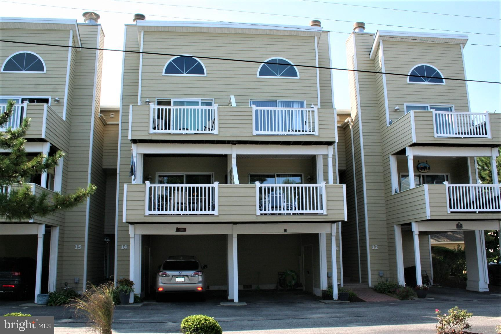 Popular Admirals Bridge unit with 3 Br. and 3.5 Ba. located in the middle of the block on the ocean side of the highway.  Community pool (for the 26 units of A.B.) nice large open decks, wood burning fireplace and all of the amenities one could want. Great view of the ocean from the decks, one off the living floor and one off the main Br. upper most level.   Walk in closet with build in locking safe in the main br.  These are excellent rental units where tenants like to return year after year.  Easy to show, no rentals now.