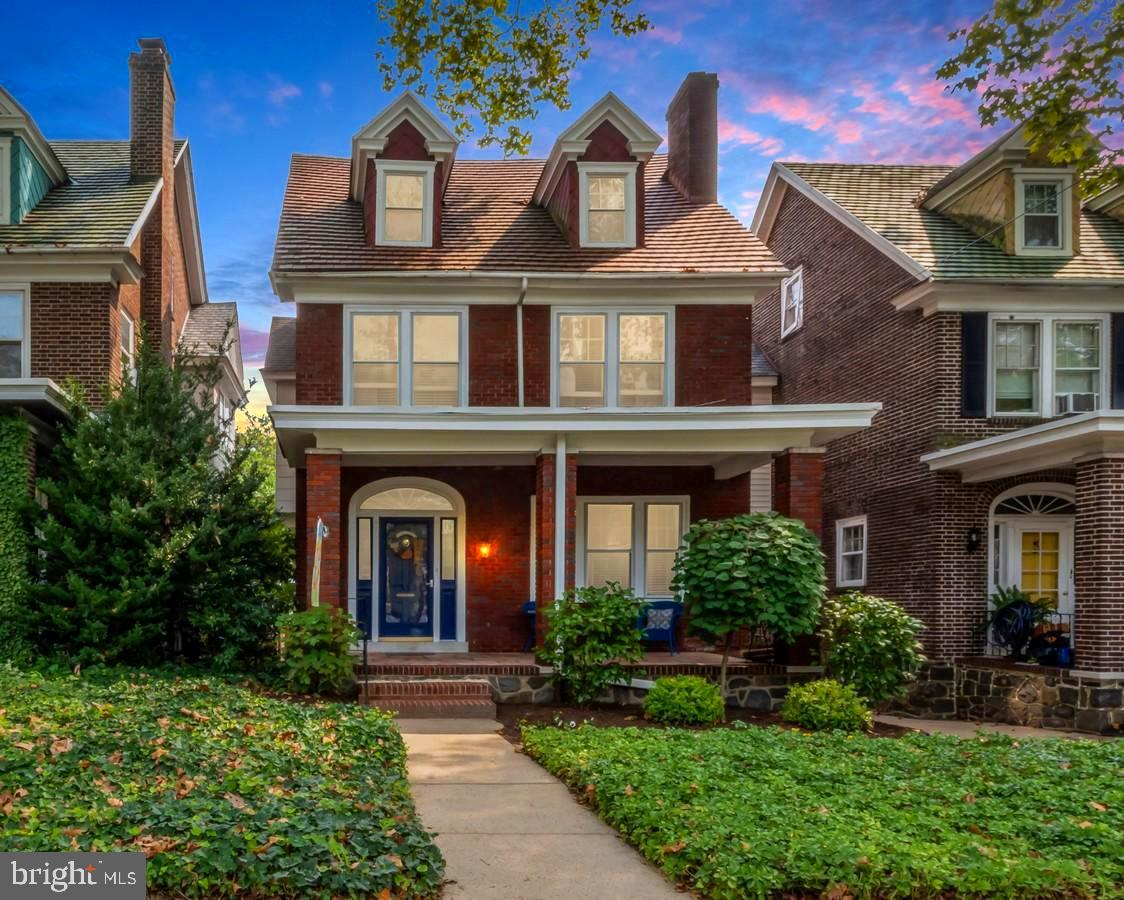 **Back on the Market - Don't miss this opportunity to make this home yours** Welcome to 2706 Baynard Blvd. This classic 4 bedroom 2.5 Bath located in the highly-regarded Ninth Ward is ready for you. Enjoy your mornings on the beautiful brick-accented porch facing the tree-lined Boulevard and your evenings between the excellently maintained extended deck and outdoor area located in the rear of the home. The first floor of this home boasts two inviting fireplaces: a wood-burning for cozy nights in the living room and a gas fireplace to set the ambiance while you enjoy cooking or dining in the very spacious kitchen. This is a space truly designed for maximized comfort and easy entertainment with a full dining room in addition to an eat-in kitchen as well as an elegant powder room easily accessible on the first floor. This home also features a partially finished basement with fresh paint and flooring ready for you. The second floor boasts a primary bedroom with lots of natural light, two additional bedrooms, and a space that can be used as an office, gym, or crafting area. Be welcomed upstairs to the third floor for a roomy guest suite including a full bathroom. There is a detached 1 car garage for all your storage or parking needs. Outside you will enjoy a shared driveway with additional off-street parking. All of this combined with the Red Clay School district makes this a home you should definitely see.    ** Home has been VA Appraised at $375,000 with no appraisal repairs required** Although already appraised for a VA loan, we gladly welcome any well-qualified buyer(s) to place a bid to make this home their own.  Home is now vacant and available for a quick and easy close. Make your offer today!
