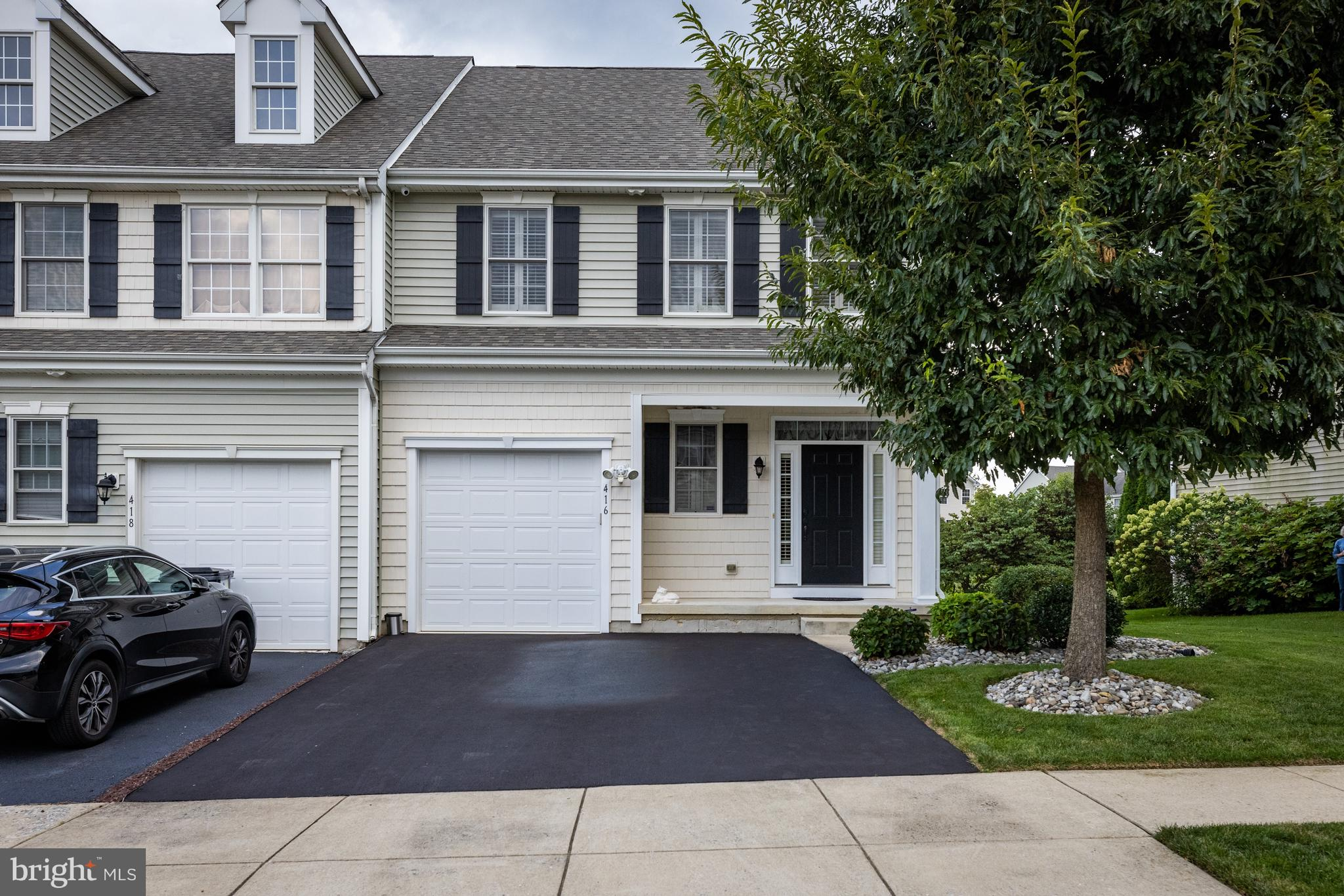 Welcome to 416 Afton Drive in the sought after development of Canal View! This beautifully maintained end unit townhome has been meticulously cared for by its original owners since it was bought as a new construction home in 2010. A plethora of highlights and upgrades make this home a true gem including a three-year-old whole-house Generac generator, one-year-old Lennox AC, Navien tankless water heater, double-pane Andersen windows, Trex deck w/ Trex privacy screen, SunSetter motorized awning above deck, Acorn stairlift chair, upgraded padding and carpet, plantation shutters and sliding doors, upstairs laundry, double sinks in both upstairs bathrooms, CTD security system (no monthly fee), driveway freshly resurfaced, river rock hard-scaling around house and under deck, basement egress window well, sump pump with backup/redundant pump, Trane XB furnace serviced annually, Honeywell humidifier, five external-mounted security cameras, painted garage with LiftMaster belt-driven (no chain) garage door opener, and so many more! No need to cut the grass...it's included in the HOA dues. This beautiful home is just off the C&D canal and is just minutes from Rt. 1. No tolls!