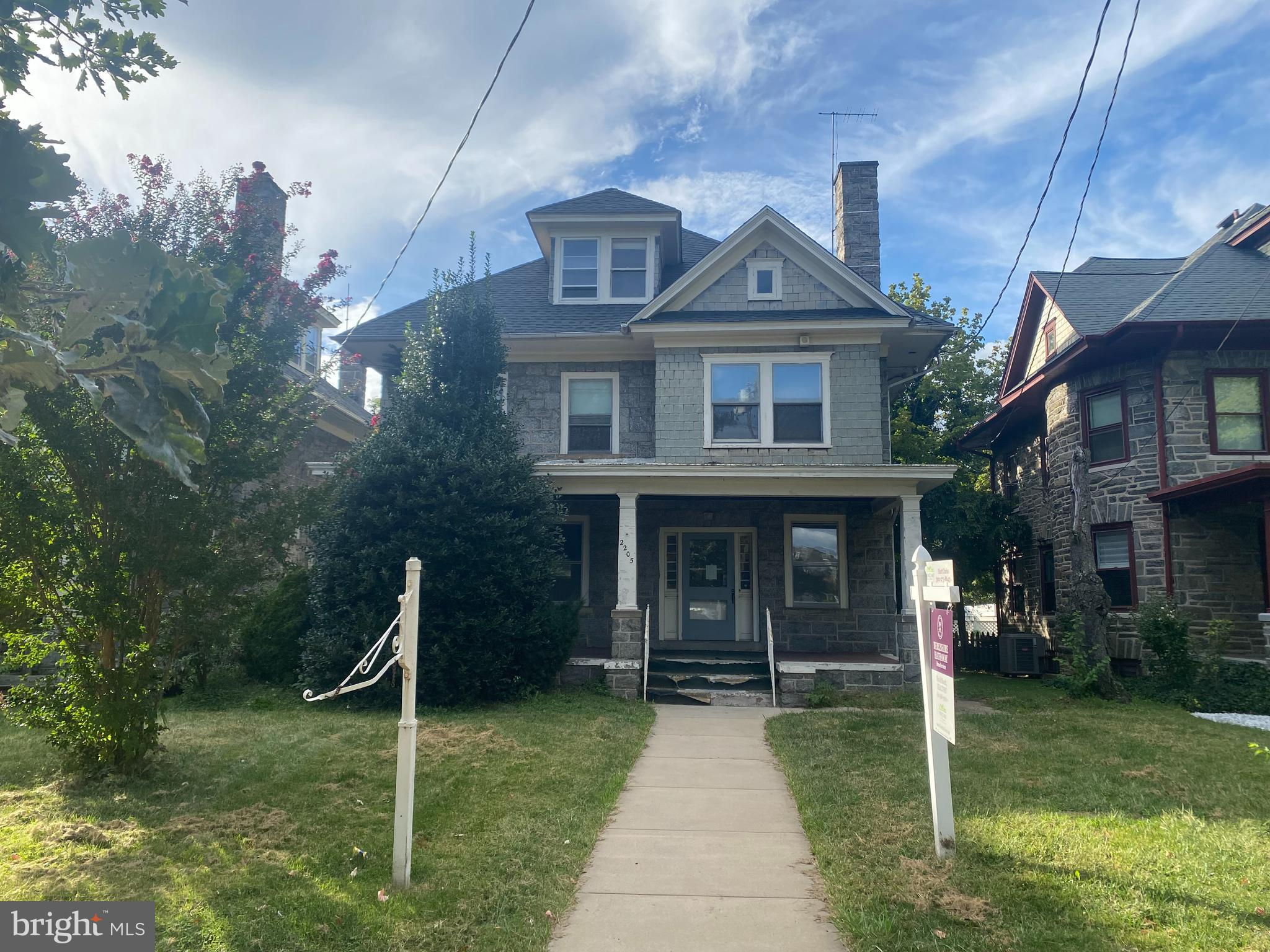 Investor Alert!! This property is in need of a major rehab. Please note that utilities, including electric, are off.  Bring your ideas and vision to give this turn of the century colonial another life! Zoned for both residential and commercial use  and was a longtime doctor's office.  Schedule your tour today!
