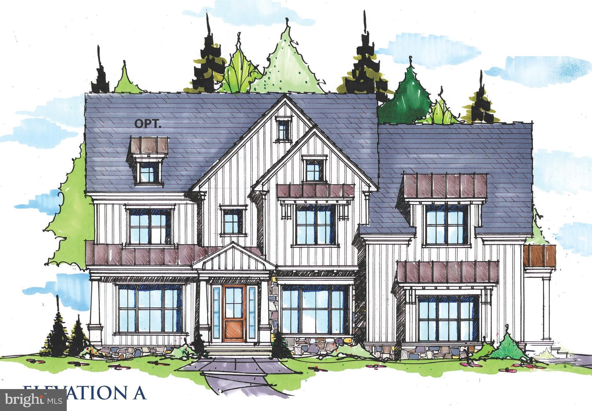 5 HOMES SITES LEFT OUT OF 12!  Don't miss your opportunity to Build in TIBURON! Bentley Homes'  new CHANDLER PLAN is just 1 of 4 Great Home Designs  that can be built in as few as 12-15 months depending on lot choice. Located in highly desirable  Easttown Township with T/E Schools and  less than 5 minutes from EA.  This new exciting Chandler Design features 10' First floor Ceilings with front and rear staircases including the 3 story open main staircase connecting all floors of the home in elegant style.    At 4600+ Sq Ft, this home offers all you could want in terms of comfort and space to suit your personal and entertainment needs.  Formal rooms and open spaces allow for flexibility in household pursuits.  The main floor features a Library, Formal Dining Room,  Great Room, Kitchen, Butler's Pantry, Breakfast Room, Mudroom with Pantry Storage and W-I-C, and (2) Powder rooms.  This 4 Bedroom 3 full and 2 Half bath plan offers the potential for more customization to add more bedrooms and bathrooms or to finish the lower level with standard 9' foundation walls. Love to entertain, consider adding the catering kitchen to complement the bar service possible from the butler's pantry with sink and bar space revealed behind 8' tall standard 2 Panel barn doors.  Upstairs you will find a Primary Bedroom Suite that spans the entire rear of the home with 2 W-i-Cs with windows, and a Spa Bath Retreat with dual vanities, makeup counter, 5 x 8  shower with frameless glass shower door, and spacious linen closet.  A lounge area, 3 Bedrooms with W-I-Cs,  2 Bathrooms , hall linen and 2nd floor Laundry Room accessible to bot the Primary BR Suite and the upper hall add needed convenience for today's homeowners.  Other exterior upgrades are avaiable to include  adding stone, roof dormers and more variation to the standard James Hardie plank exterior or by enlarging the standard composite deck or adding a screened porch,  All homesites are  1+ Acre with ample space to plan for a pool if d