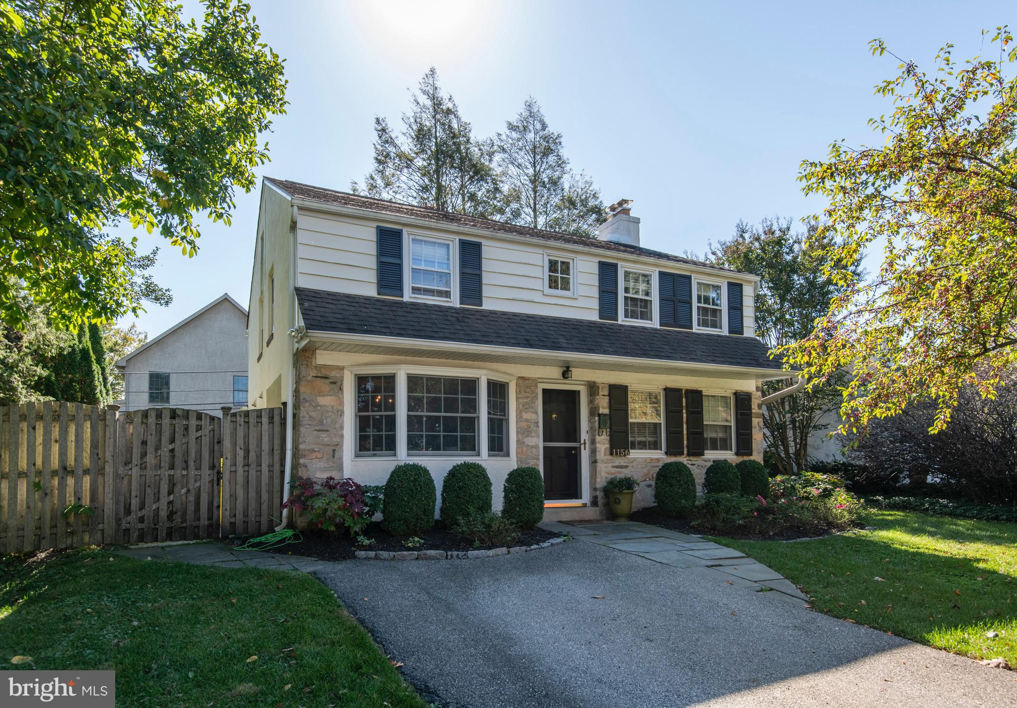 All showings start at the open house on Sunday, Oct 24.  Be sure to watch the full motion video tour. Wonderful, classic colonial in a location hard to match!  Fall in love with fantastic curb appeal and inviting front yard  that leads into this 3 bedroom, 2.5 bathroom home on Maplecrest circle - one of Gladwyne's most sough-after streets/neighborhoods. The first floor of this expanded home has a great circular flow to it. A cozy living room with wood burning fireplace on one side and formal dining room on another, open to a kitchen and recreation/playroom with access to a beautiful flat backyard. Conveniently located powder room and laundry are completing the first floor.  The second floor features primary bedroom with full bath and two bedrooms with hallway bathroom and additional office/bonus room. Hardwood floors through first and second floors, extra space for storage in the basement.  Beautifully maintained, fenced backyard with mature perimeter landscaping, garden and  flagstone patio is perfect for entertaining. Walk to Gladwyne Village, Gladwyne elementary in the Award Winning Lower Merion School District, park and library, or simply pick up the Bridlewild walking/hiking trails right on Maplecrest. Minutes to train station and Center City Philadelphia.  Incredible place, filled with love and light to call home!